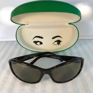 KATE SPADE RARE Esther/s SUNGLASSES with case.